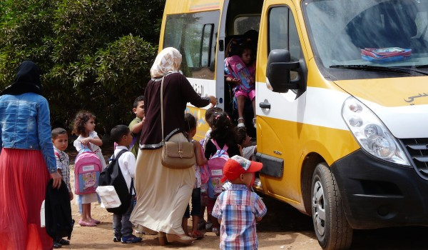 Ramassage scolaire maternelles
